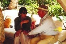 Mick Jagger & Rupert Loewenstein