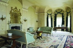 Maud Russell commissioned Rex Whistler to decorate the room in 1939.